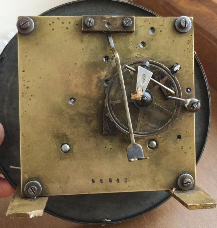 Старинные настенные немецкие часы