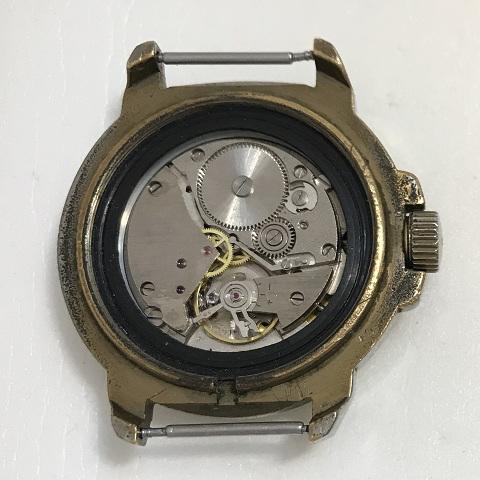Мужские наручные часы Ракета СССР вечный календарь в позолоте