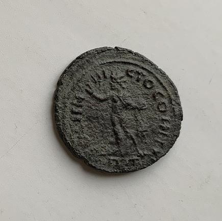 Монета Шестак серебро