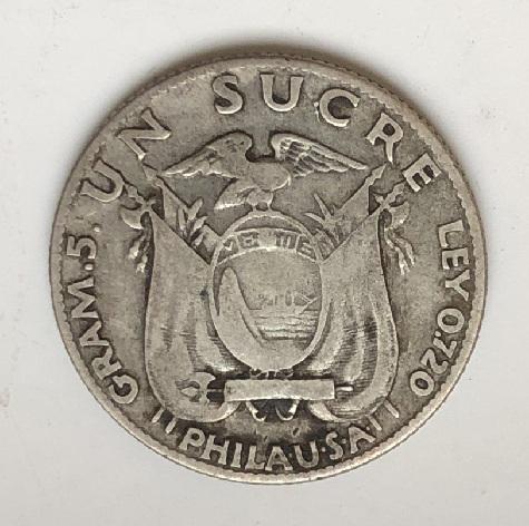 Интересная старинная монета серебро