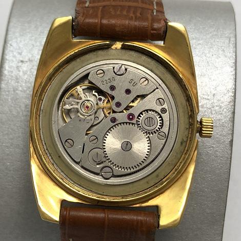 Мужские наручные часы Восток СССР 2409А экспортные позолота