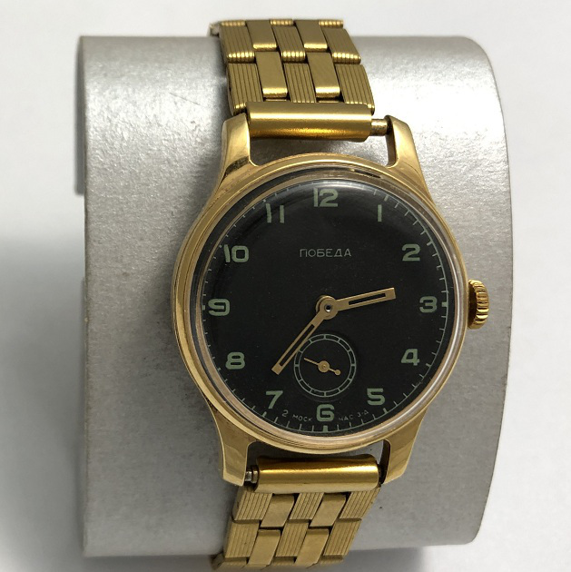 Наручные мужские часы Победа сделаны в СССР