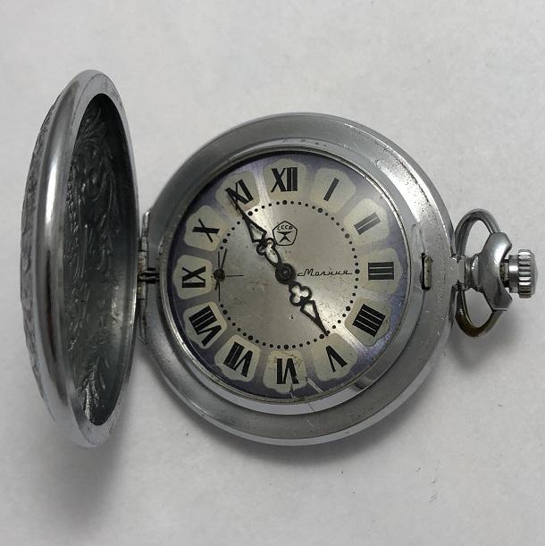 наручные часы Восток СССР 2409 А красные в позолоте