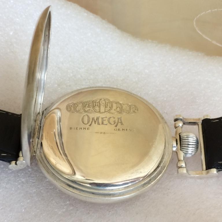 Мужские наручные швейцарские часы Omega марьяж