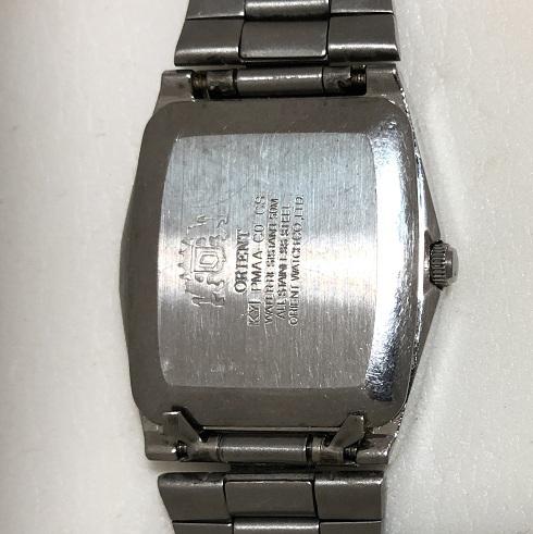 Мужские наручные часы Orient 3 Stars прямоугольные синие
