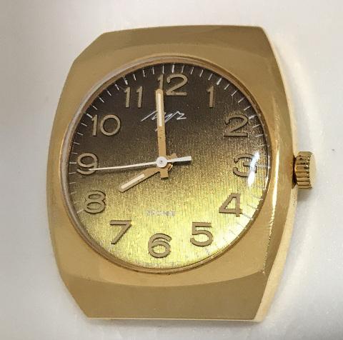 Мужские наручные часы Луч из СССР редкие