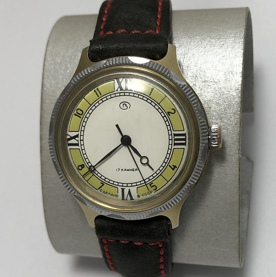 наручные часы Спортивные СССР в позолоте