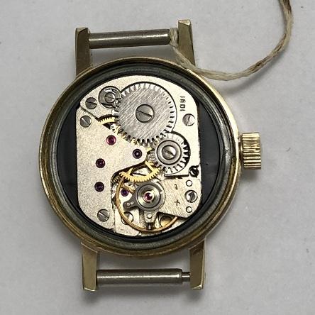 наручные часы Полет СССР позолоченные автомат