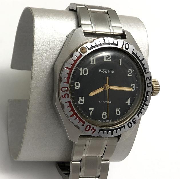 Командирские часы Восток Амфибия СССР 17 камней