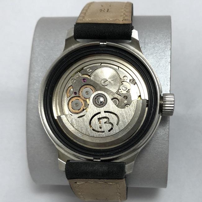 наручные часы Cornavin de luxe СССР черные