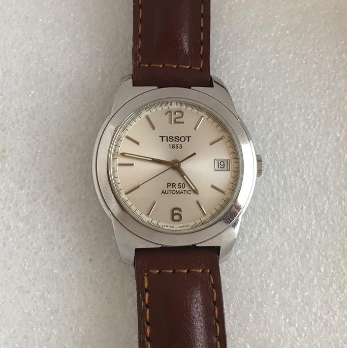 механические часы Tissot PR 50