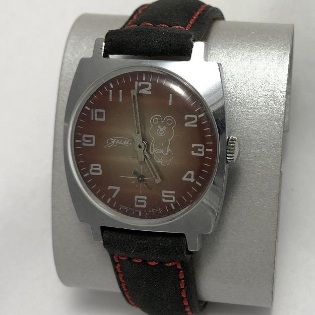Наручные мужские часы ЗИМ СССР олимпийские