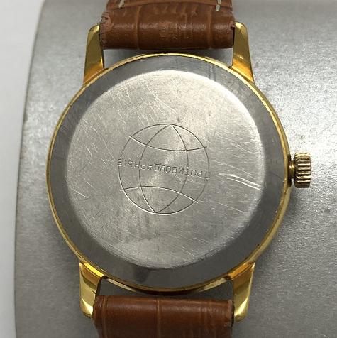 Мужские наручные часы Свет ЭЧЛ СССР 2609 позолоченные