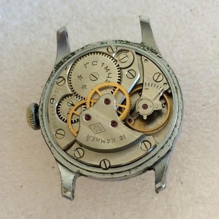 наручные часы Москва белые СССР
