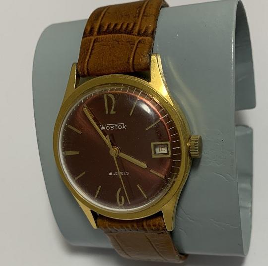 Наручные часы Луч СССР позолоченные AU 20 суперсохран!