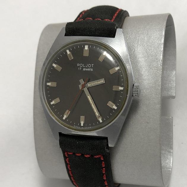 Мужские наручные часы ЗИМ СССР белые