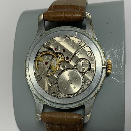 Мужские наручные часы Полет Гвардия позолоченные с паспортом
