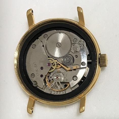 Мужские наручные часы Восток СССР 2409А в позолоте с браслетом