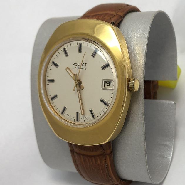 Мужские наручные часы Полет СССР овальные