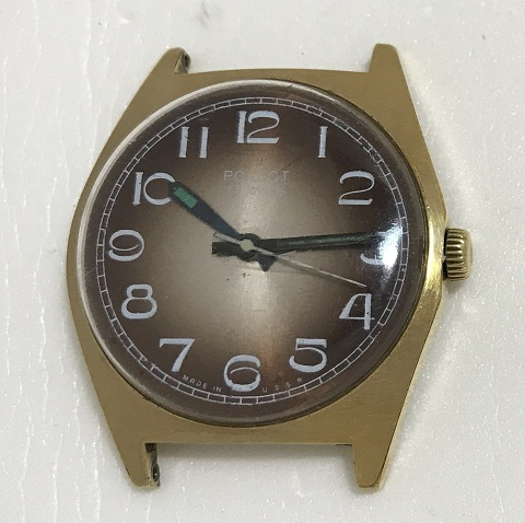 Мужские наручные часы Полет СССР 17 камней 2609
