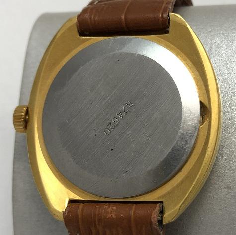 Мужские наручные часы Ракета 12 СССР 2614 Н в позолоте