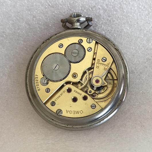Швейцарские карманные часы Omega