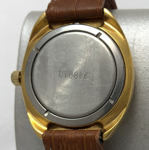 наручные часы Cornavin 17 камней СССР позолоченные двухцветные