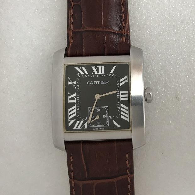 Наручные швейцарские часы Cartier двухсторонние