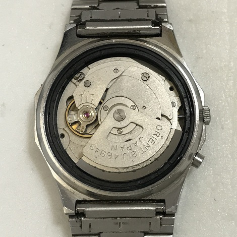 Отличные наручные часы Orient 3 Stars желтоватые crystal 21 jewels автоподзавод