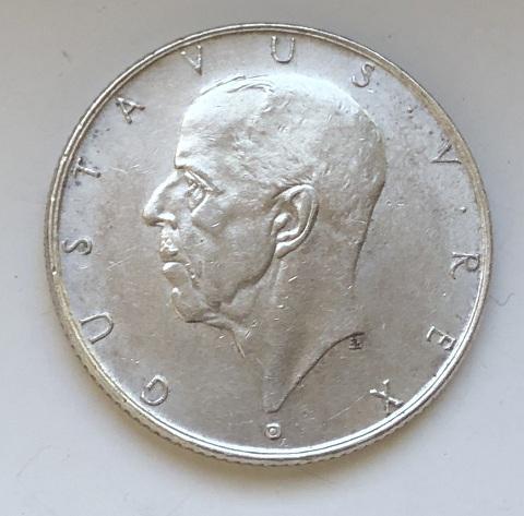 Старинная шведская монета серебро