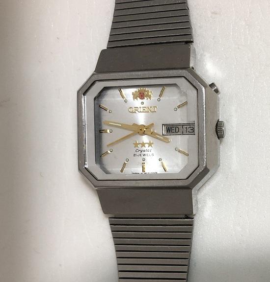 Мужские наручные Часы Orient фреза crystal 21 jewels