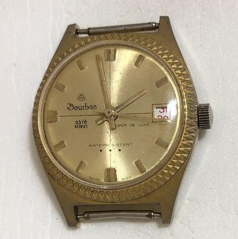 Мужские наручные швейцарские часы Bourbon