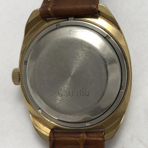 наручные часы Восток СССР прецизионные позолоченные