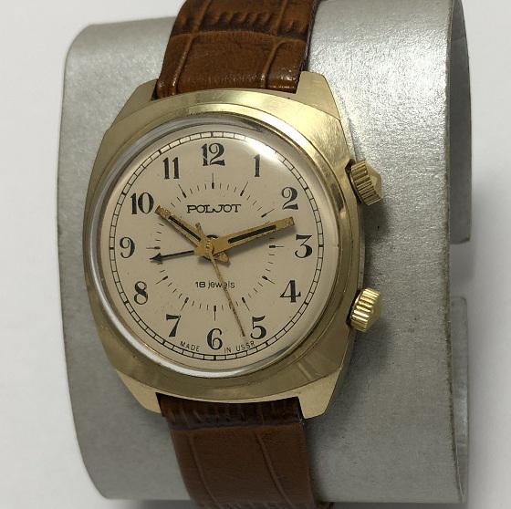наручные часы Полет СССР позолоченные 23 камня редкие