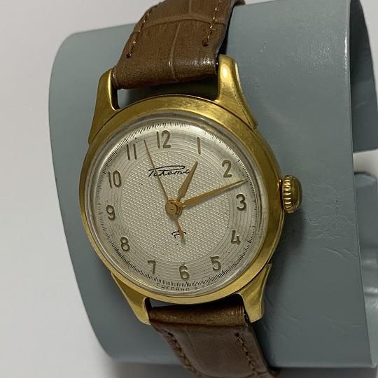 Наручные мужские часы Слава СССР 26 камней антрацитовые