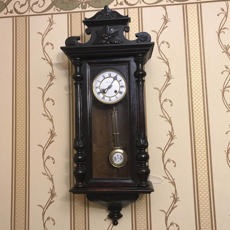 Старинные настенные часы Габю