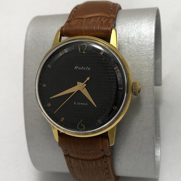 Мужские наручные часы Ракета СССР рифленка
