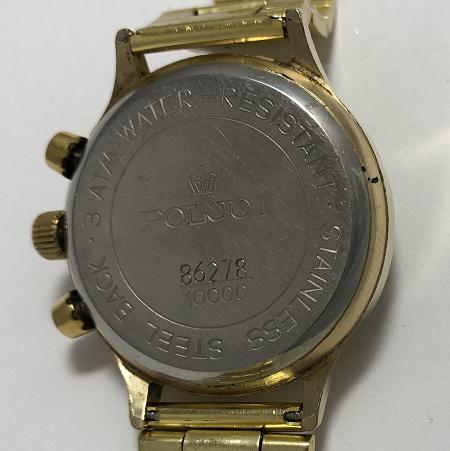 Мужские наручные часы Полет Хронограф СССР 3133 позолоченные