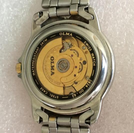швейцарские часы Olma automatic
