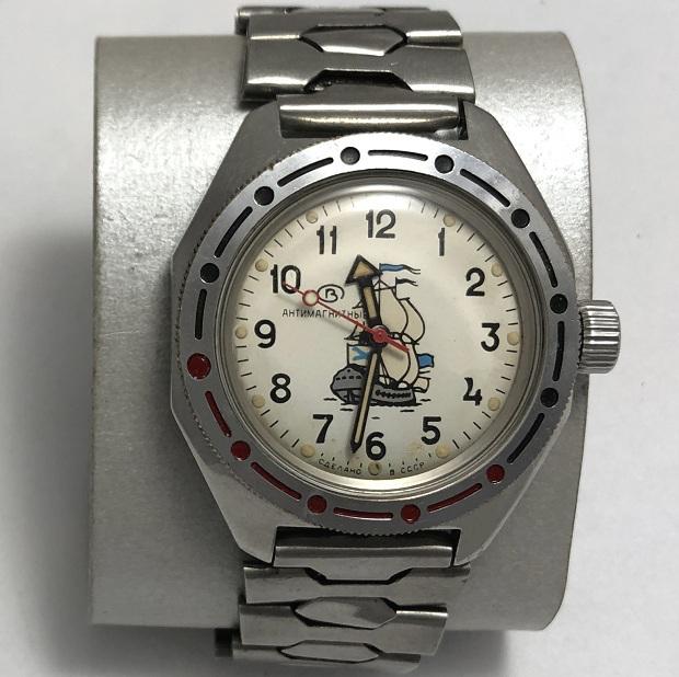 Командирские часы Восток Парусник СССР