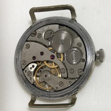 Мужские наручные часы Полет de luxe СССР 23 камня золотистые