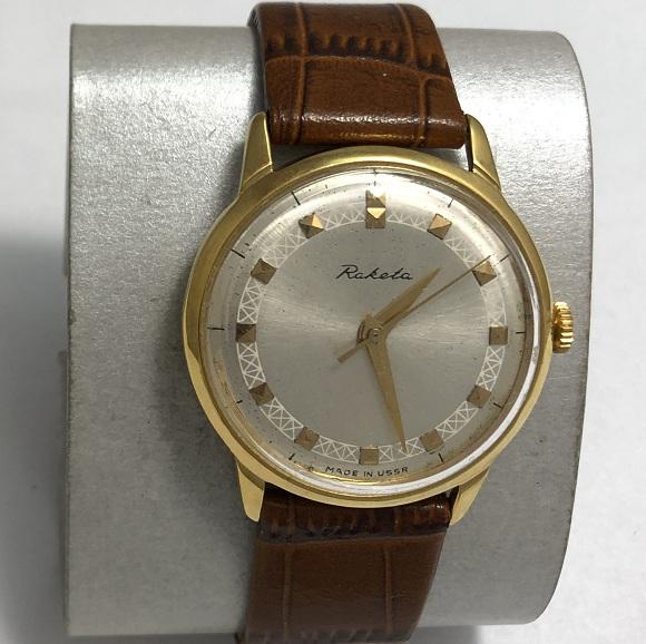 Часы мужские наручные Ракета 16 камней СССР экспортные