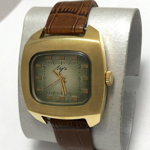 Мужские наручные часы Луч СССР 23 камня телевизор