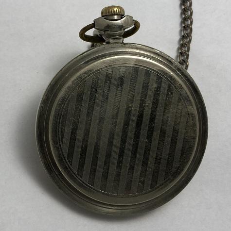 Карманные часы Молния Трактор