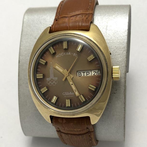 Мужские наручные часы Слава СССР олимпийские