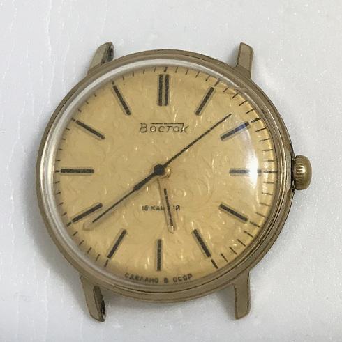 наручные часы Ракета вечный календарь зеленые СССР