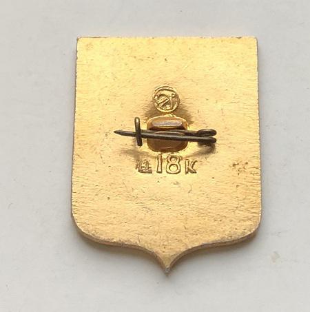 Старинная монета Чехословакии из серебра