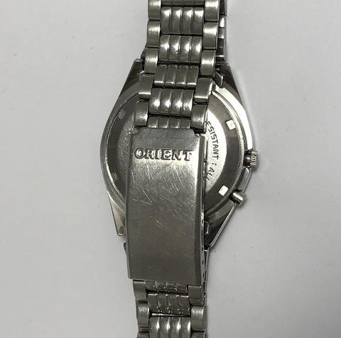 Мужские наручные Часы Orient 3 Stars синие с браслетом