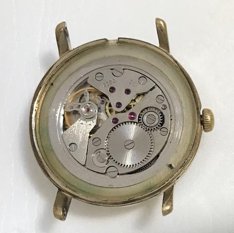 Мужские наручные часы Восток СССР золотистый циферблат 2209
