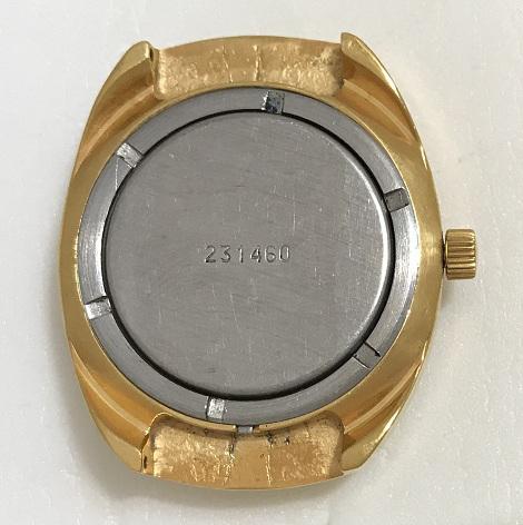 Мужские наручные советские часы Полет позолоченные